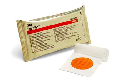 3M 6412 P2000 PETRIFILM RAPID COLIFORM,500 PLATES/BOX