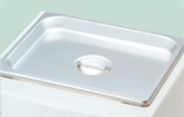 BEE-542 Stainless steel flat cover for BW-10 B/H series - Acorn Scientific