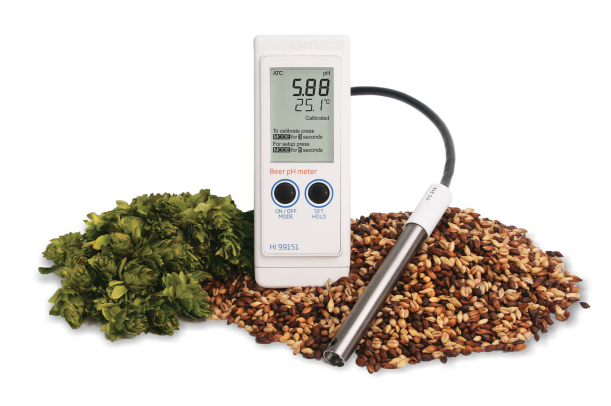 HI 99151  Portable Waterproof pH Meter for the Beer Industry