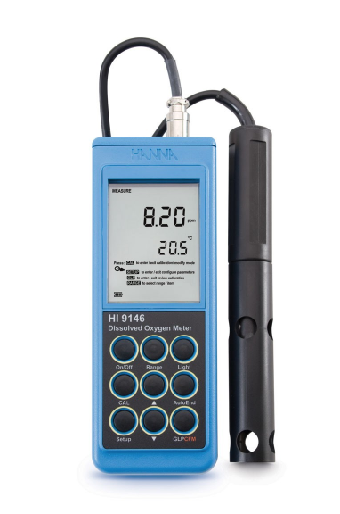 Hanna Portable Dissolved Oxygen Meter