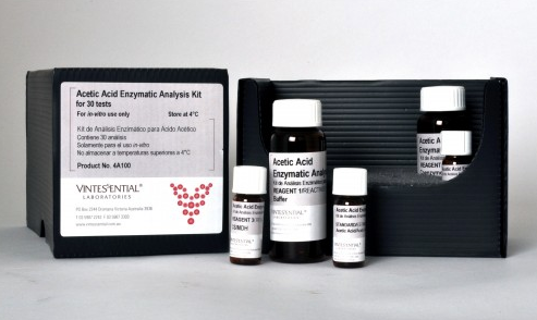 Vintessential Enzymatic Test Kit: Acetic Acid 30 Tests