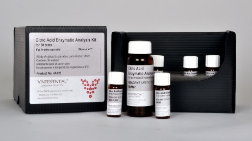 Vintessential Enzymatic Test Kit: Citric Acid 30 Tests