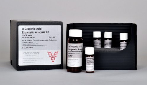 Vintessential Enzymatic Test Kit: D-Gluconic Acid 30 Tests