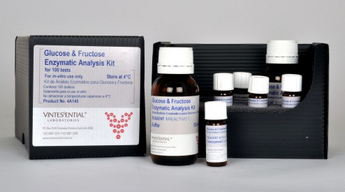 Vintessential Enzymatic Test Kit: D-Glucose /D-Fructose 100 Tests