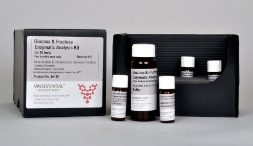 Vintessential Enzymatic Test Kit: D-Glucose/D-Fructose 30 Tests