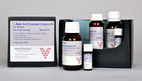 Vintessential Enzymatic Test Kit: L-Lactic Acid 30 Tests