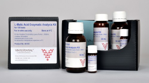 Vintessential Enzymatic Test Kit: L-Malic Acid 100 Tests