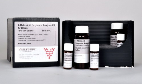 Vintessential Enzymatic Test Kit: L-Malic Acid 30 Tests