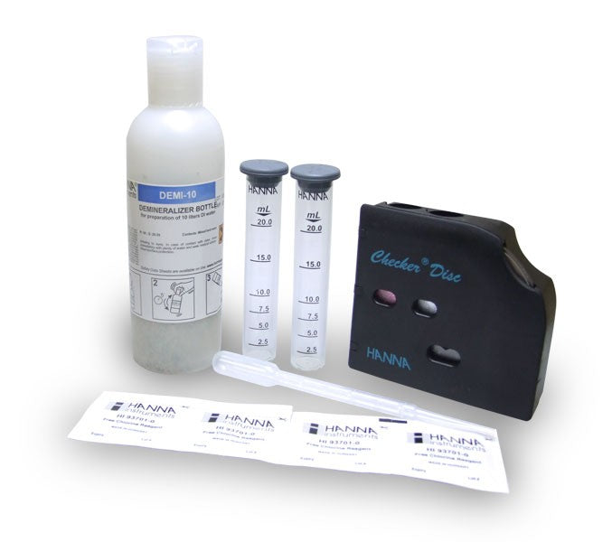 HI 38018  Free Chlorine Test Kit