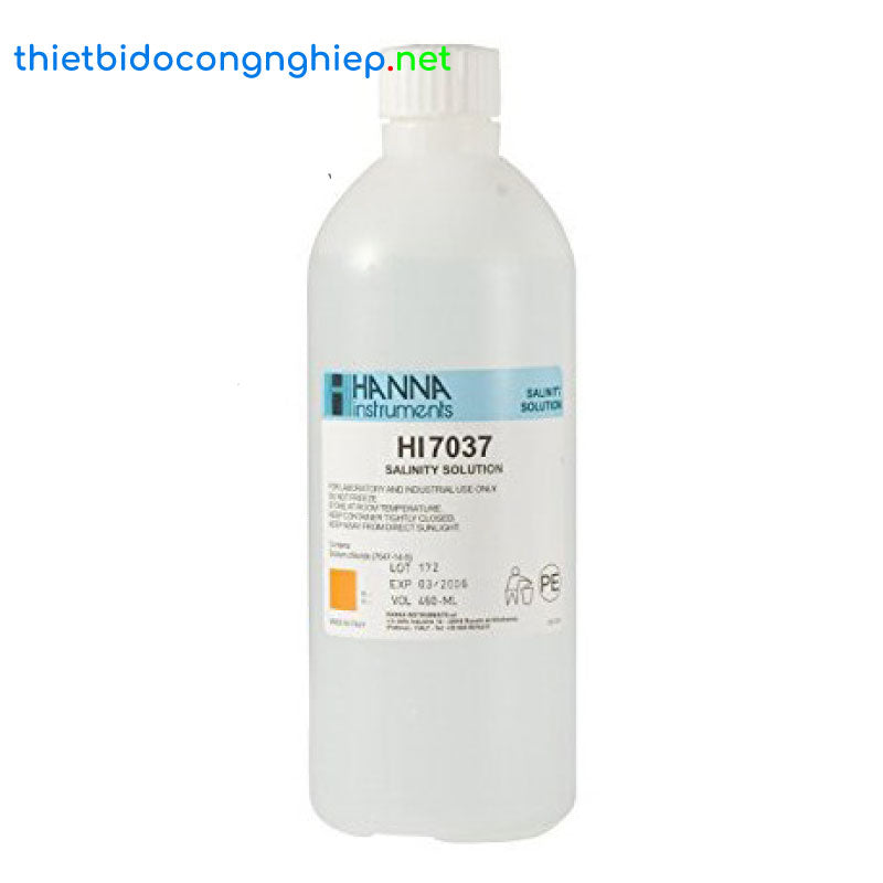 HI7037L  Calibration Solution for % Readings (100% NaCl)