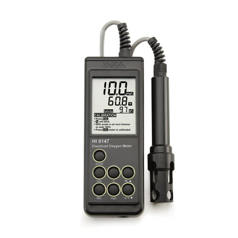 HI 9147-04 Dissolved Oxygen / °C - Meter. Galvanic DO Probe