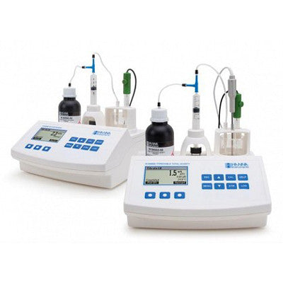 HI 84500-02 Mini-Titrator for Free and total sulfur dioxide + Redox Meter
