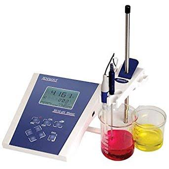 Jenway 3510 Standard Digital pH Meter Kit, Glass Electrode, ATC, buffers; 120 V