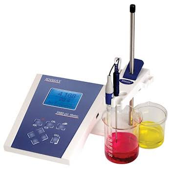 Jenway 3520 Advanced Digital pH Meter Kit w/GLP, glass electrode, ATC, buffers; 120 V