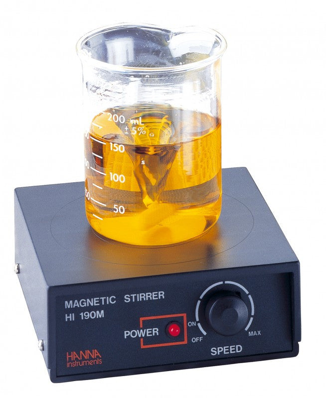 HI 190M-2  Mini Magnetic Stirrer with Speedsafe - Acorn Scientific