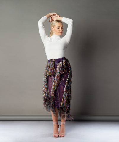 CHAPTER 6: EMOTIONS FRINGE SKIRT