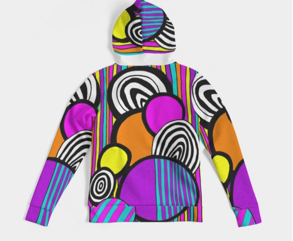 NEVETT-NATION AIR BUBBLE PRINT HOODIE