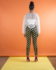 NET CROPPED TOPPER