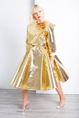 GOLD PLATED 2-WAY  JACKET