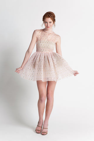 TULLE FULL SKIRT DRESS