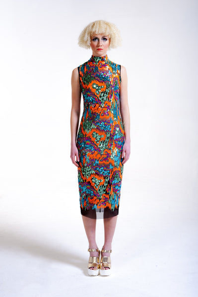 Multi-Colored Sequence Sheath