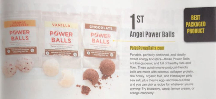 What Are Paleo Power Balls?