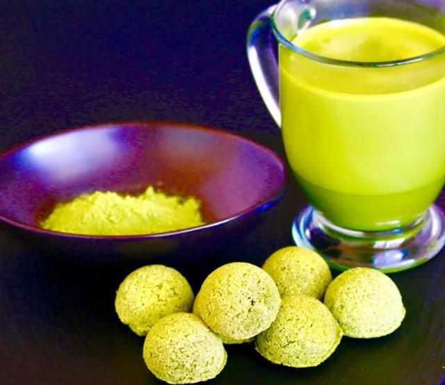 Matcha Green Tea Latte Power Balls - 4 Packs