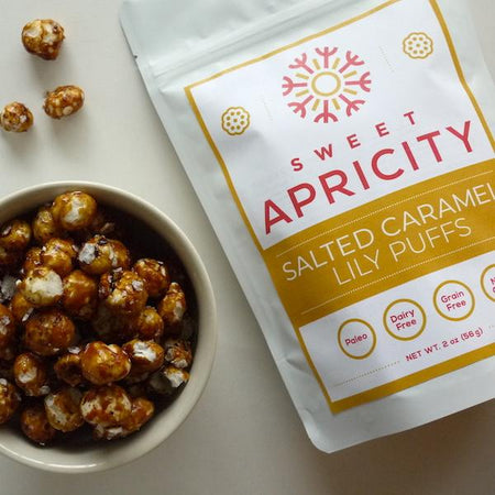 Salted Caramel Lily Puffs (AIP Reintro Stage 2 + Paleo)