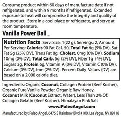 Vanilla Power Balls