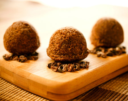 Carob Fudge Cake Power Balls - 4 Packs