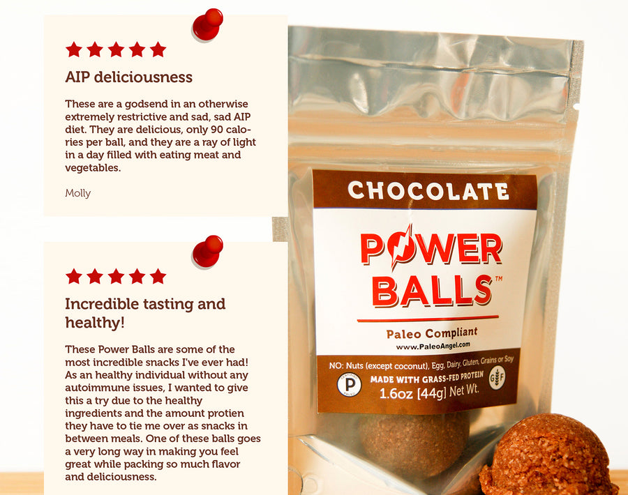 Chocolate Brownie Power Balls - 4 Packs