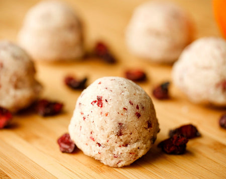 Orange Cranberry Muffin Power Balls - 4 Packs
