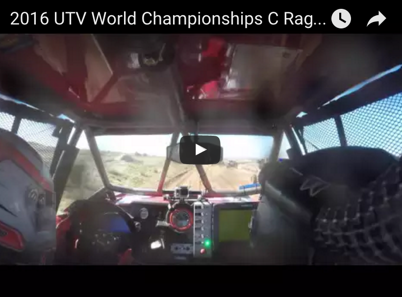 Check out this in car video from our driver Chad Ragland in the #1999 CageWrx and UTV Underground car during the UTV World Championship!