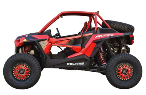"CAGEWERX RZR XP 1000 (2019+) / XP TURBO S ""SUPER SHORTY"" ASSEMBLED - RAW FINISH (INCLUDES ROOF)"