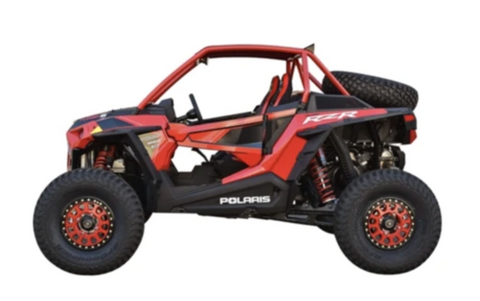 "CAGEWERX RZR XP 1000 (2019+) / XP TURBO S ""SPORT CAGE"" ASSEMBLED - RAW FINISH (INCLUDES ROOF)"