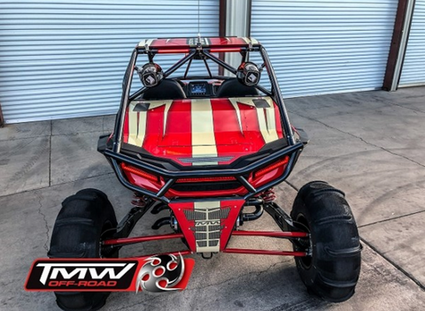 TMW - Sand slayer bumper style 2 Seat Cage (fits 2019 Turbo S and 2019 RZR models)