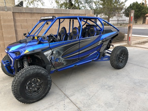 TMW - Sand slayer bumper style Cage (fits 2019 Turbo S and 2019 RZR models)