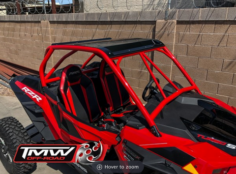 TMW - Sand slayer speed style 2 Seat Cage (fits 2019 Turbo S and 2019 RZR models)