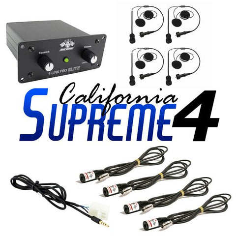 California Supreme 4 - PCI Race Radios - 1