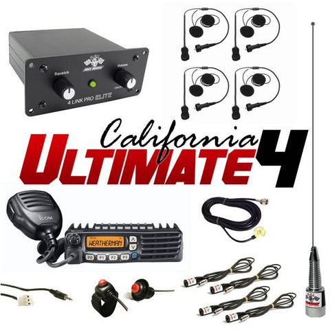 California Ultimate 4 - PCI Race Radios - 1
