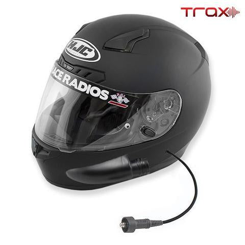 PCI Trax HJC CL-17 Playcar Wired RaceAir DOT Helmet