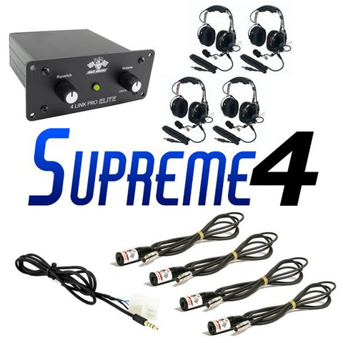 Supreme 4 Package - PCI Race Radios - 1
