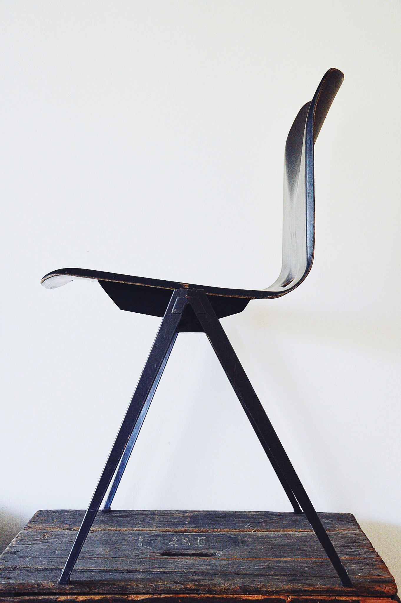 The Pagholz Industrial Stacking Chair - ONE ONLY remaining