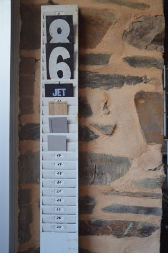 Vintage Industrial Metal 25 Slot Factory Time Clock On Punch Card Holder Rack