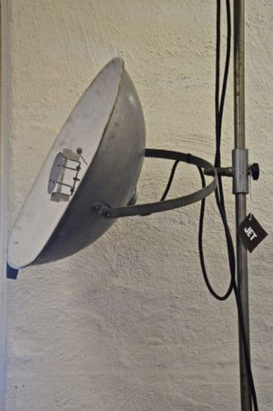 Large 1950s French Industrial Floor Standing Photographic Lamp by NARITA