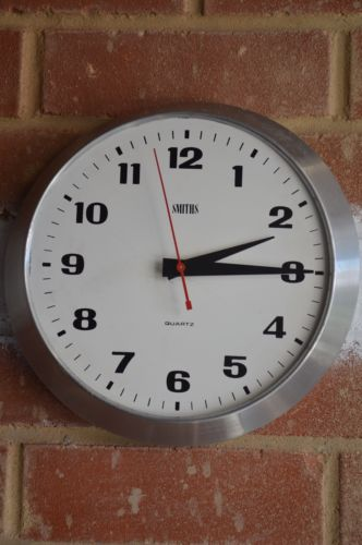 vintage industrial retro SMITHS quartz clock