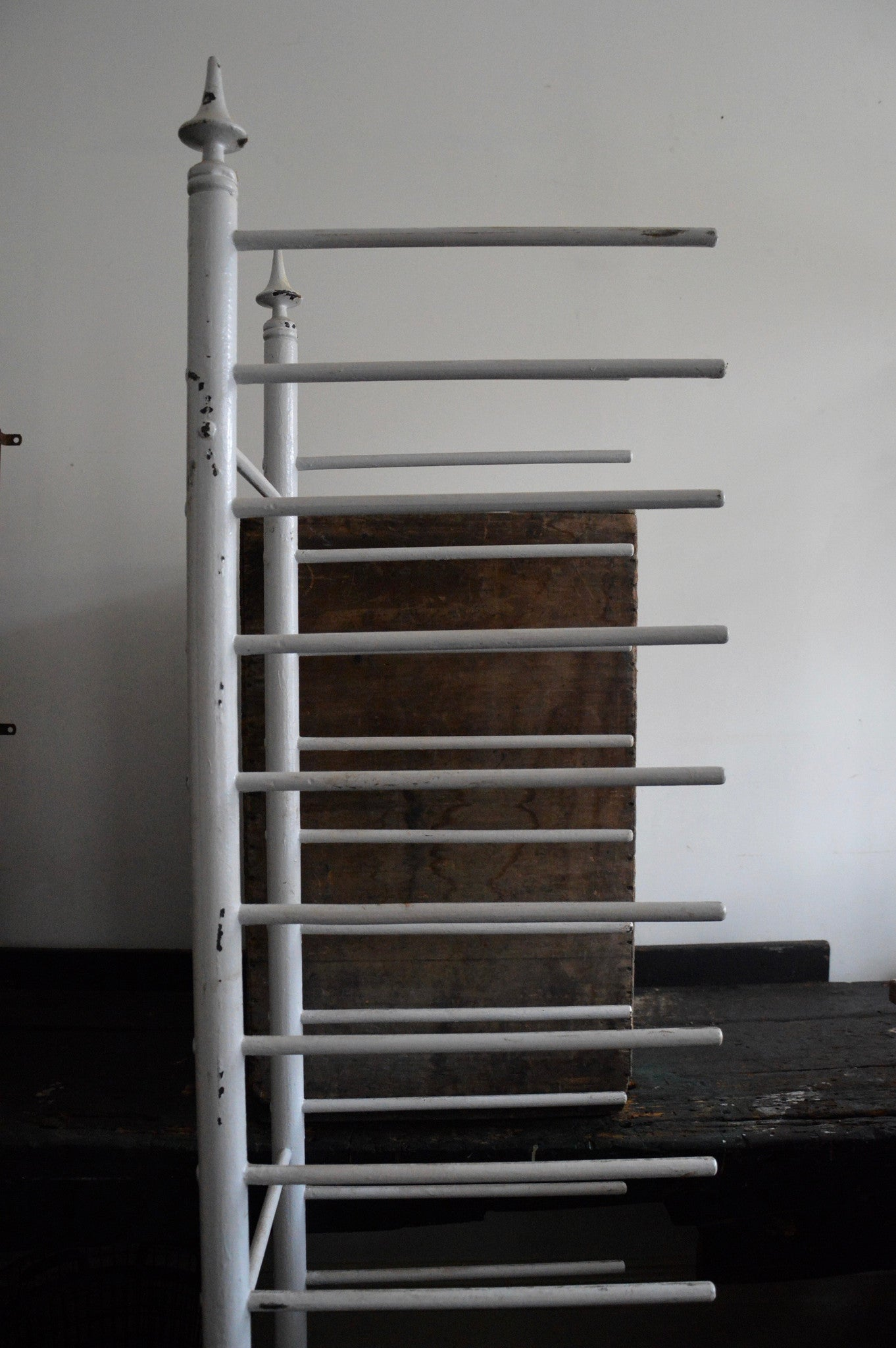 divine antique BAKERY RACK on wheels