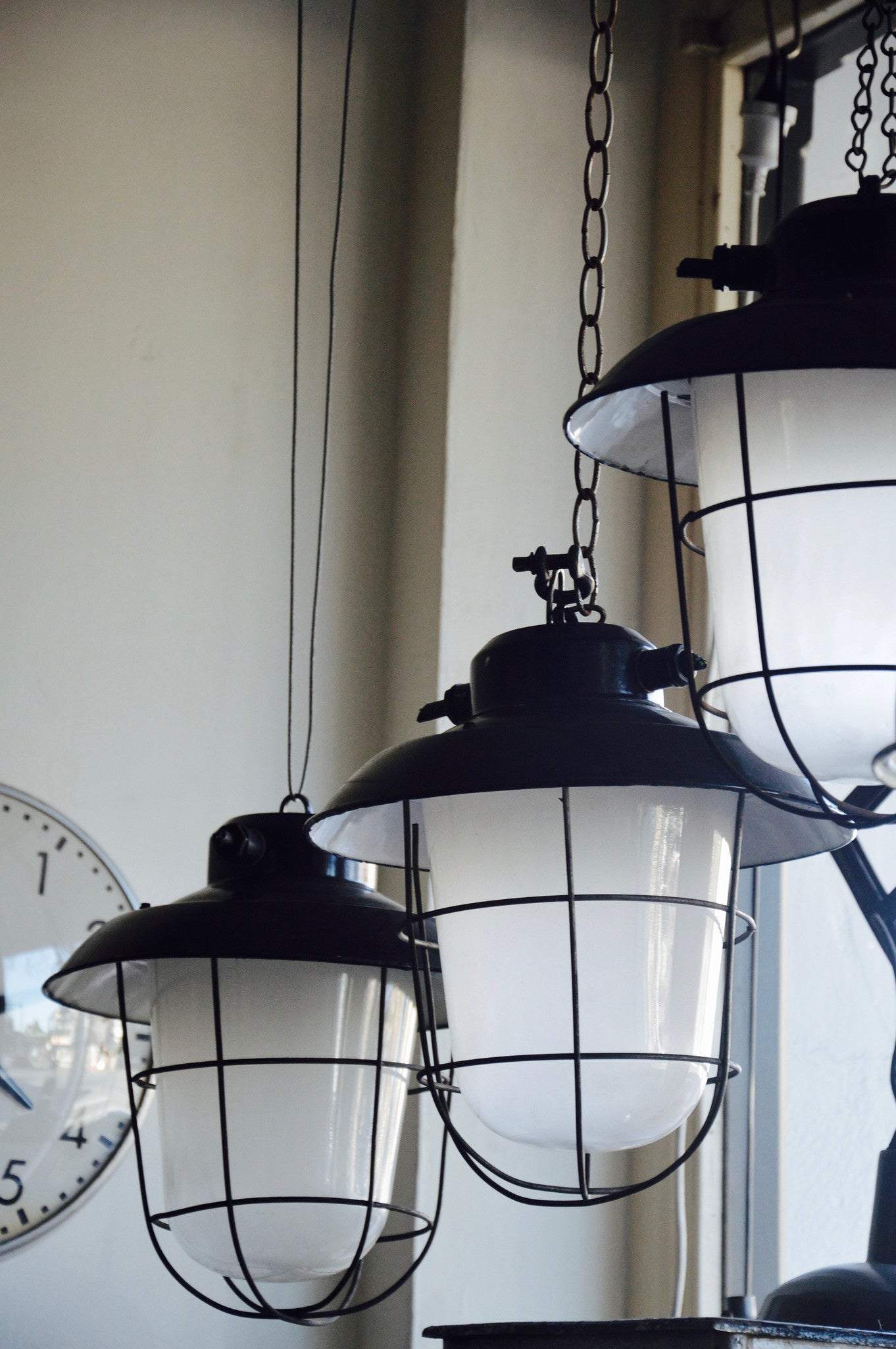 Home > Products > Vintage Industrial Factory Bunker Lights