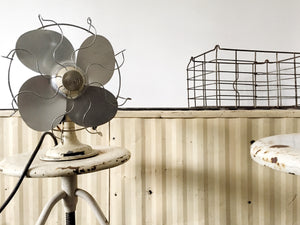 Vintage industrial LIMIT fan