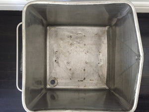Stainless Steel Tub Trough Trolley